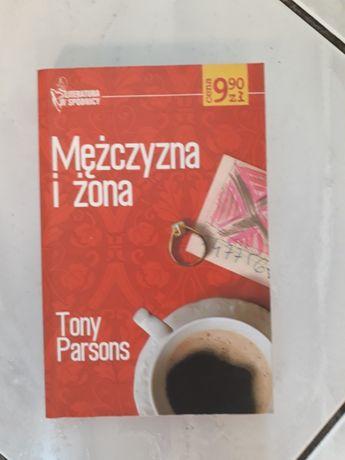 Książka Mężczyzna i żona, Tony Parsons