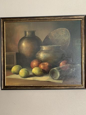 Obraz olejny Olbrych