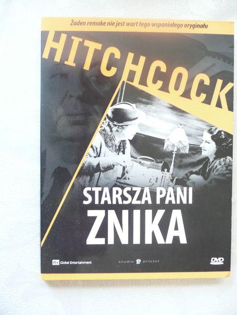 Alfred Hitchcock Starsza pani znika DVD Lektor