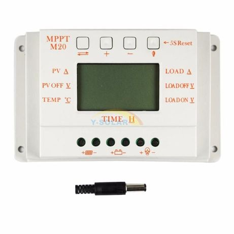 20A LCD MPPT20 Solar Panel Controller 12V 24V Charge Regulator Dual Ti