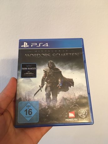 Gra Gry Ps 4 Playstation Mittler Of Mordors Schatten