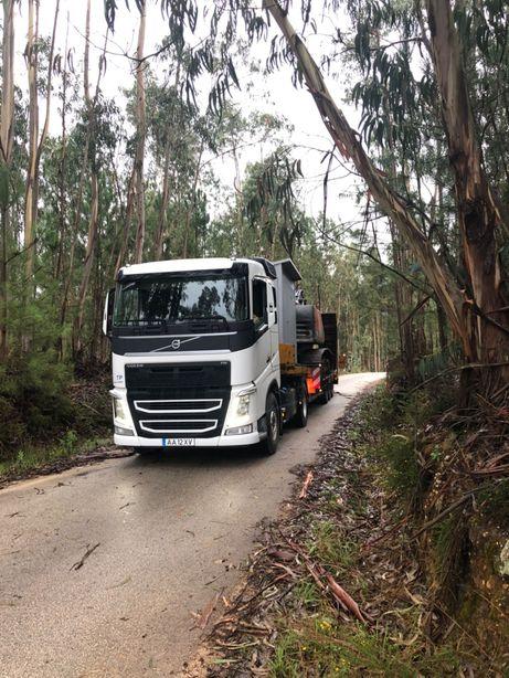 Transporte de Máquinas escavadoras
