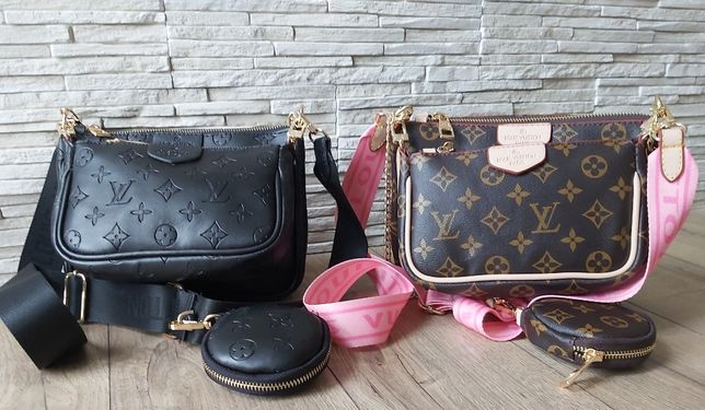 Nowy model torebka kopertówka Louis Vuitton Multi Pochette kurier 24h