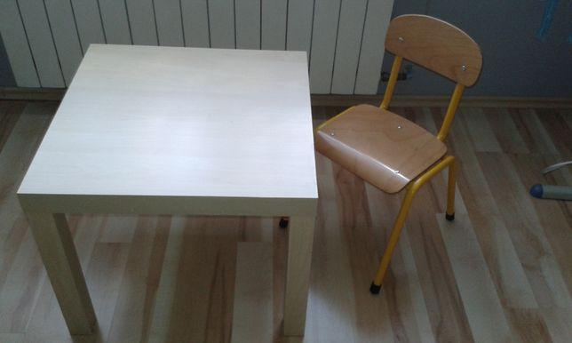 krzesło dla przedszkolaka + stolik gratis