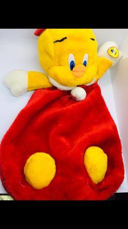 Итальянская игрушка Утенок новый пижамница