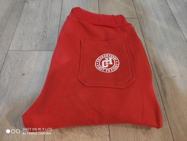 Spodnie dresowe Charakterni First to fight rozmiar L bawełna 100%