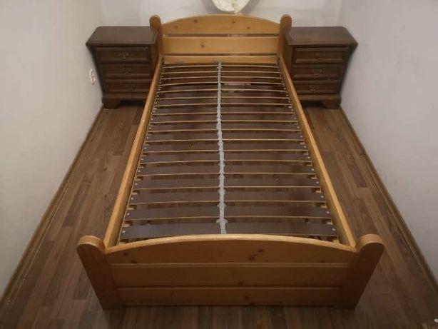 Łóżko drewniane polecam!!!