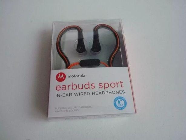 Słuchawki motorola earbuds sport ip54