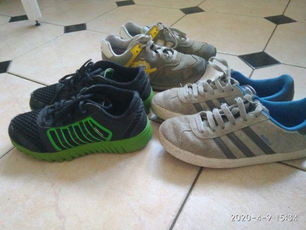 Кроссовки , термоботинки Adidas, 34- 35 размер ,gor-tex.NB