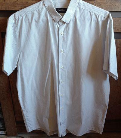 Koszula męska z krótkim rękawem rozmiar XL