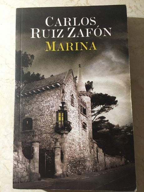 "książka - Carlos Ruiz Zafon ""Marina"""