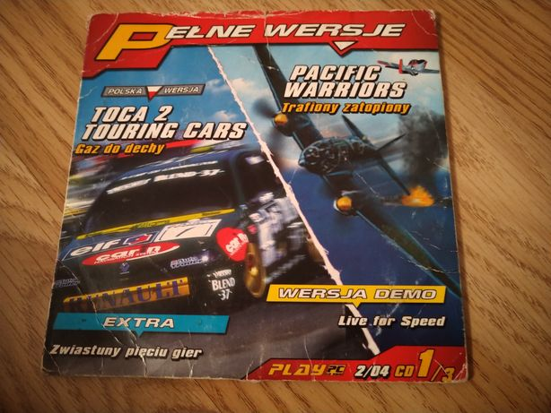 """PC """"Toca 2 Touring Cars"""" i """"Pacific Warriors"""""""