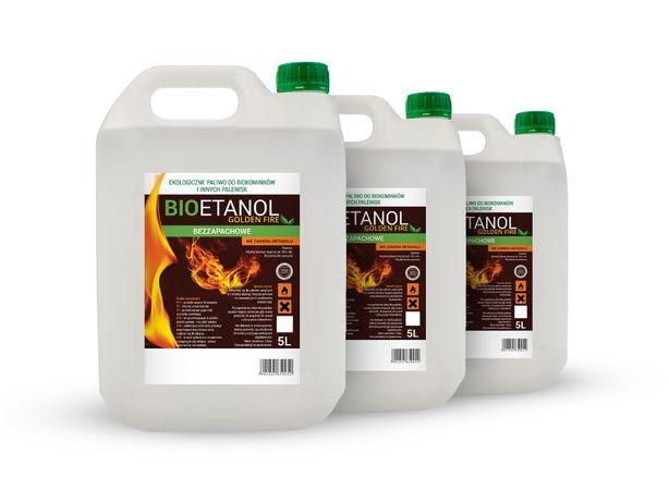 Biopaliwo biokominek paliwo do biokominków bioetanol bezzapachowe 15L