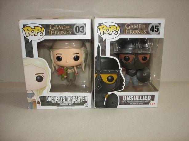Daenerys Targaryen + Unsullied GRA o TRON Funko POP