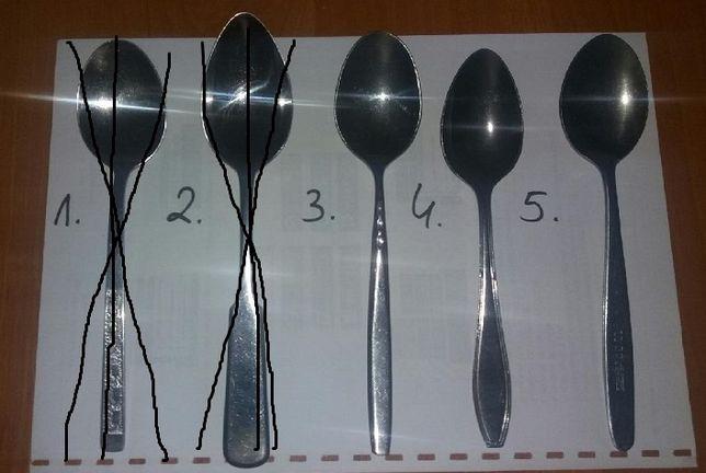 Sztućce - łyżki stołowe kuchenne - różne