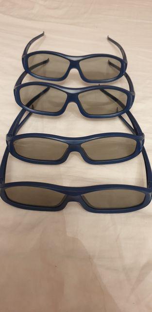Okulary 3D do telewizora Samsung bez zasilania
