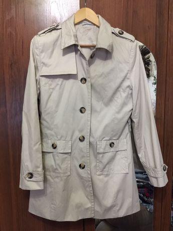 Плащ пальто atmosphère Zara тренч пиджак