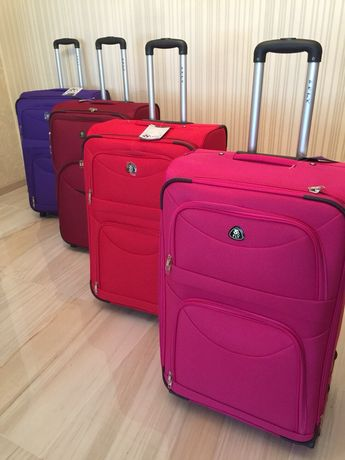 Тканевой чемодан РАСПРОДАЖА со склада Дорожная сумка, валіза Польша