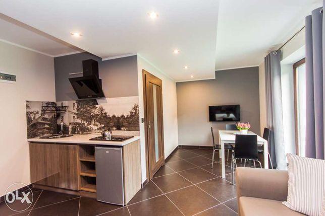 Nowy Pensjonat Apartamenty Dawna Wisła Dobry standard aneksy kuchenne
