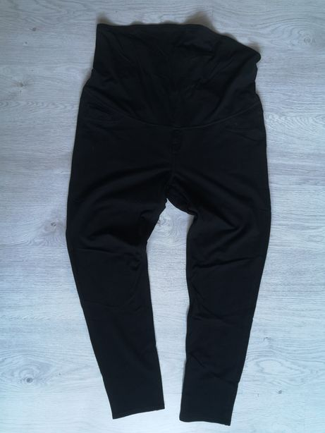 Spodnie ciążowe hm XL, hm mama spodnie ciążowe