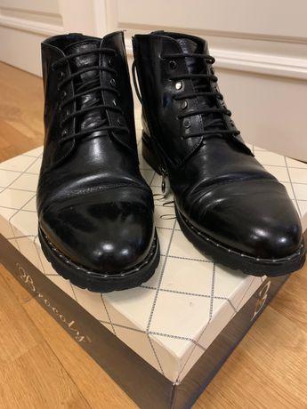 Кожаные ботинки ANEMONE ,38