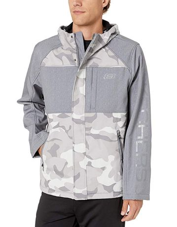 Легкая демисезонная куртка ветровка Skechers софтшелл 2XL 52 размер