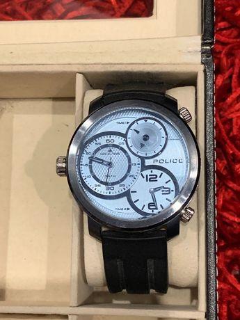 Relógio de homem da Police com bracelete em borracha