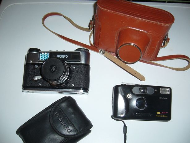 Stary aparat fotograficzny ( ruski ) FED-5