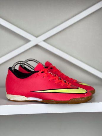 Футзалки Nike Mercurial Vortex original 42 мужские бампы копы футбол