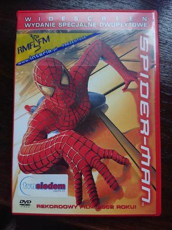 SPIDER-MAN wydanie dwupłytowe na dvd