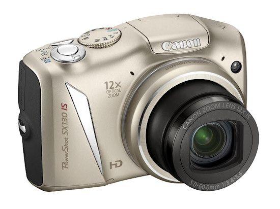 Aparat fotograficzny Canon PowerShot SX130 IS szampański Stan idealny