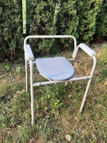 Krzesło toaleta WC dla niepełnosprawnych