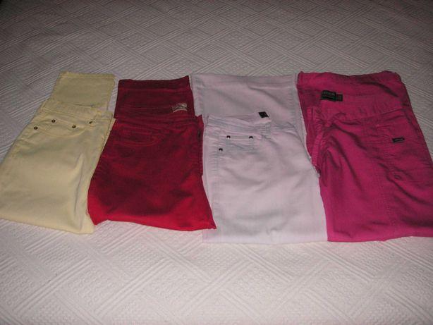 Calças Salsa Blue Jeans, J F Sports, Lindong Jeans e Caroche