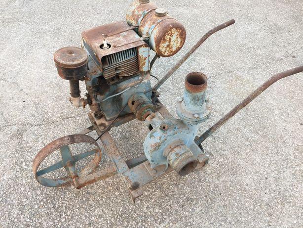 Motor rega antigo