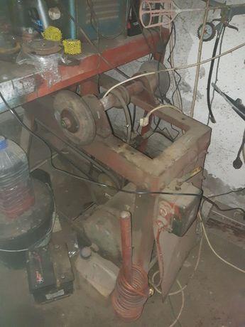 sprężarka + szlifierka na kamień 380V