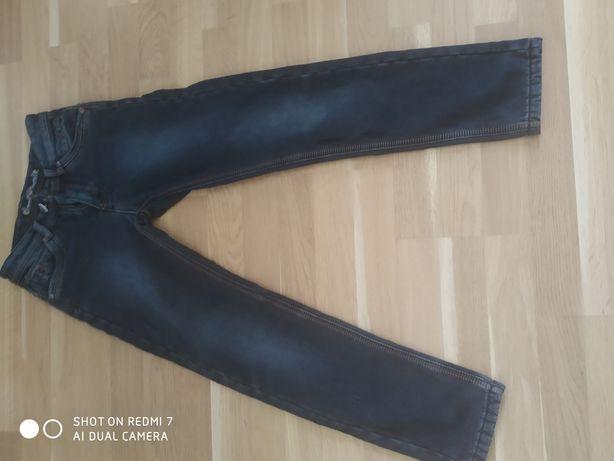 Утеплені джинси на 12-14 років