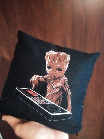 Mini Poduszka Strażnicy Galaktyki Groot Nintendo Marvel