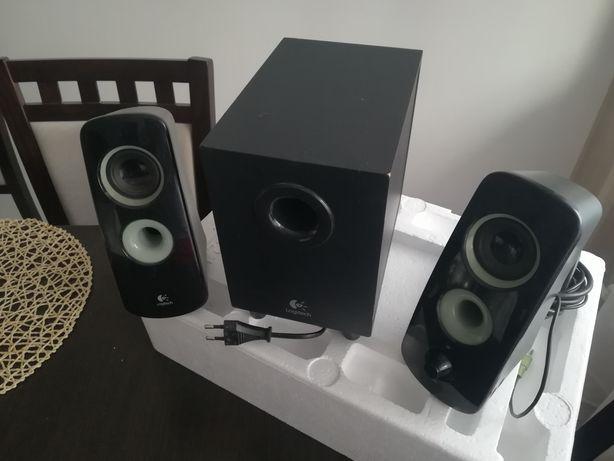 Głośniki 2.1 Logitech Speaker System z323! Zestaw z Subwooferem!