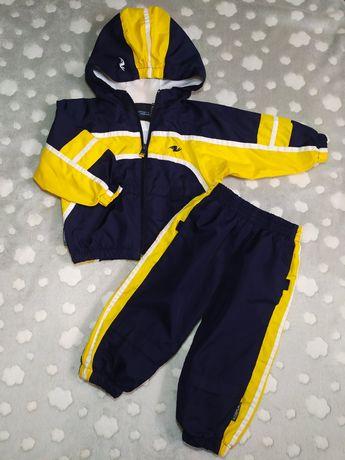 Спортивный костюм на мальчика, плащевка, р.80, 9-12 месяцев