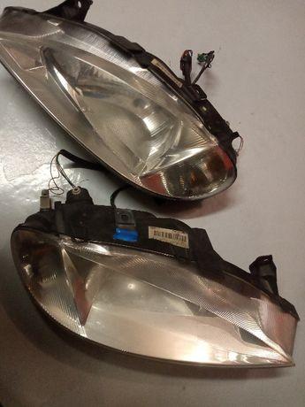 Lampy przednie, RENAULT MEGANE I Lift