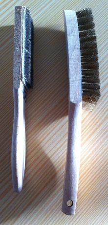 Jogo de escovas para madeira metal