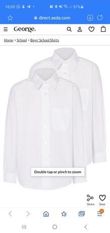 Новые Рубашки George 8-9лет