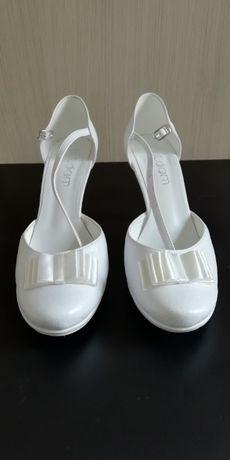Buty ślubne białe rozmiar 40/41