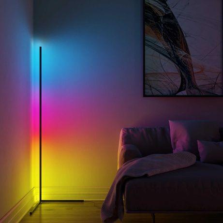 Торшер угловой LED напольный люкс качество