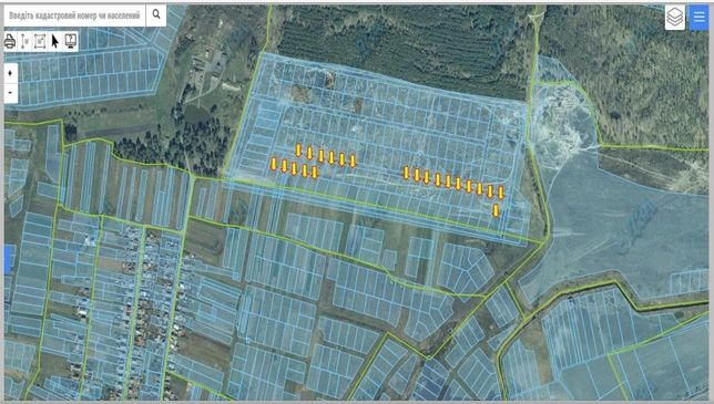 Земельный участок, земля в пгт Дымер (22 участка), ПРОДАМ СРОЧНО