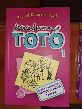 Livros Diário de uma totó