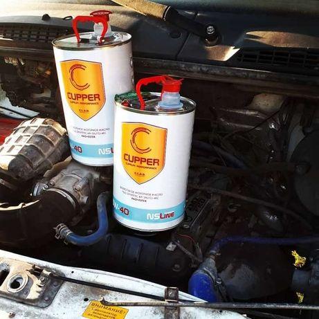 Моторное масло и присадки Cupper для всех узлов