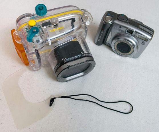 Zdjęcia podwodne Canon A720IS + WP-DC16