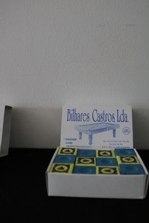 Caixa de giz TRIANGLE para snooker ou mesa de bilhar