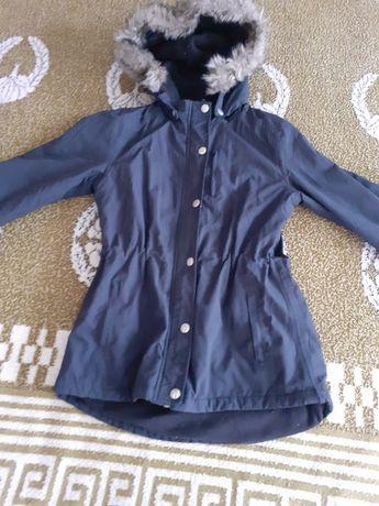 Теплая куртка парка 148-152см